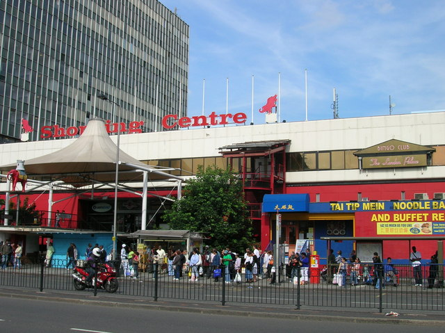 Elephant and Castle Shopping Centre, Elephant and Castle SE1