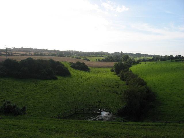 View from Lisdornan, Co. Meath