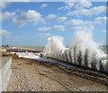 TQ0000 : Coastal Erosion at Atherington by Chris Richardson