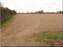 T0329 : Ploughed field near Castlesow by David Hawgood
