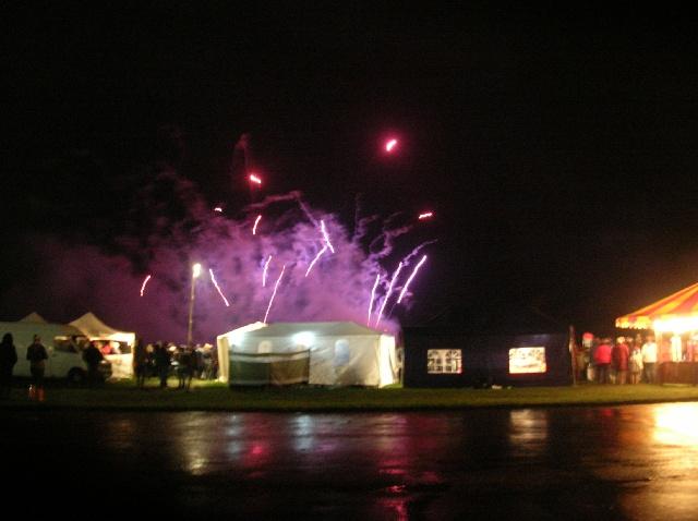 Fireworks at Castle Howard