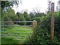 SO5180 : Footpath Between The Haytons by Geoff Pick