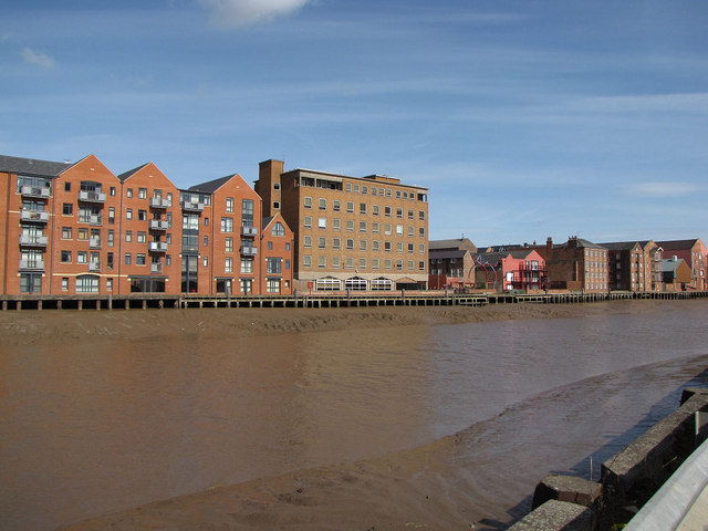 West side of River Hull