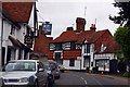 SU5794 : The George Hotel and Dorchester Post Office by Steve Daniels