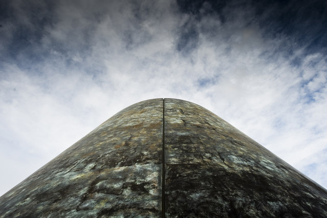 The Peter Harrison Planetarium cone, Greenwich