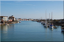 TQ0202 : River Arun, Littlehampton by Chris Richardson