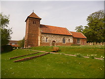 TA0015 : Bonby: parish church of St. Andrew by Chris Downer
