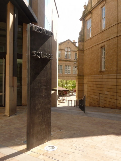 Sheffield: West Street entrance to Leopold Square