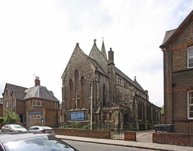 Holy Trinity Church, Shepherdess Walk, Hoxton, London N1
