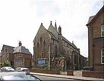 TQ3283 : Holy Trinity Church, Shepherdess Walk, Hoxton, London N1 by John Salmon