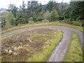 NS0586 : Bend  on the forest road in Gleann Laoigh by John Ferguson