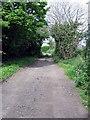 NZ4537 : Track serving Hesleden Hall by Roger Smith