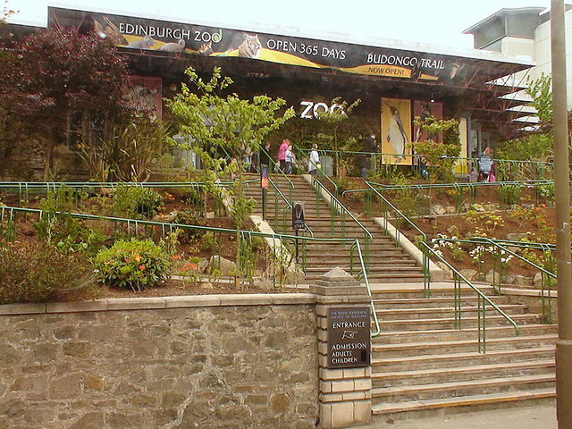 Entrance to Edinburgh Zoo