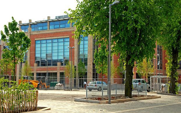 New library, Queen's University, Belfast