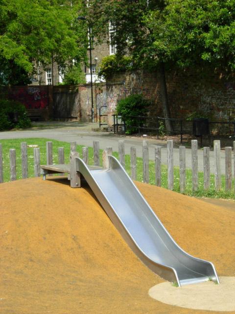 Children's slide, Shepherdess Walk