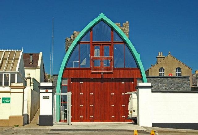 New lifeboathouse, Portaferry