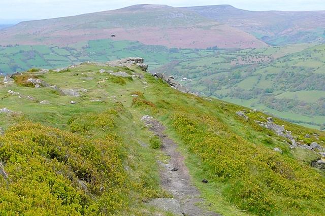 North-west end of Sugarloaf