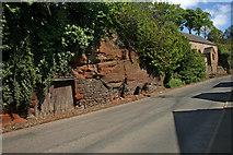 NY6820 : Permian Red Sandstone by Helen Wilkinson