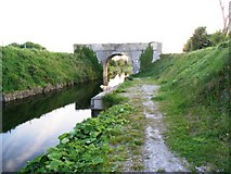 O0131 : Gollierstown Bridge on the Grand Canal in Co. Dublin by JP