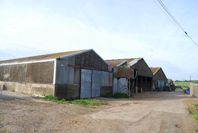 Barns, Little Bayhall Farm by N Chadwick