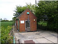 TM3784 : Illketshall St.Lawrence Telephone Exchange by Geographer
