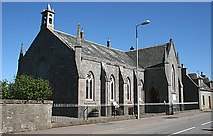 NJ1619 : Tomintoul Church of Scotland by Anne Burgess