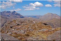 NG4919 : On top of Sgurr na Stri by John Allan