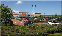 NS4865 : Abbotsinch Retail Park by wfmillar