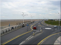 SD3317 : Southport - Marine Drive viewed from the Pier by Alan Heardman