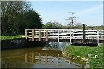 SU3368 : Hungerford church swing bridge by Graham Horn