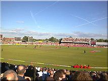 SJ8195 : Old Trafford Cricket Ground by Anthony Eyles