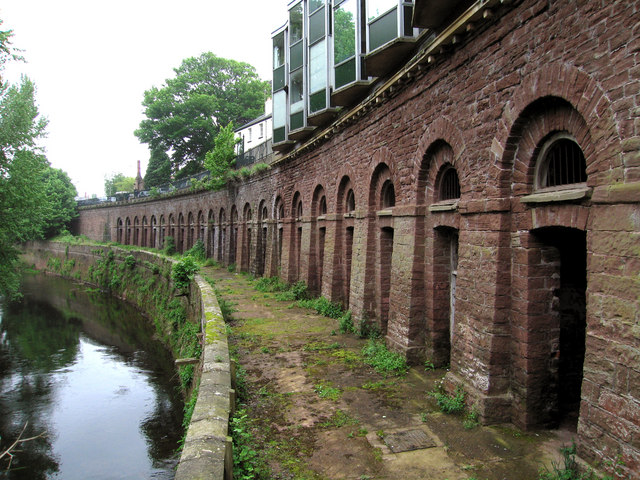 Monmouth's old Slaughter Houses