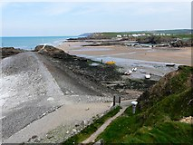 SS2006 : Summerleaze Beach, Bude, low tide by Tom Jolliffe