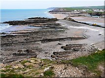 SS2006 : Rock Strata, Bude Haven by Tom Jolliffe