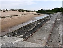 SS2006 : Old railway track, Bude Canal, Summerleaze beach by Tom Jolliffe