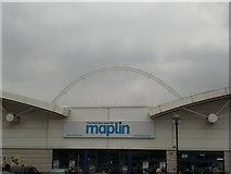TQ1986 : Maplin, Stadium Retail Park, Wembley Park Drive, Wembley by Robin Sones