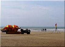 SS2006 : Lifeguards and bathers, Summerleaze Beach, Bude by Tom Jolliffe