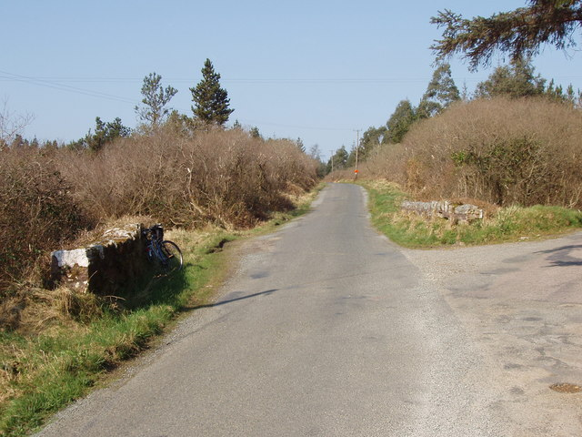 Road junction on Forth Mountain