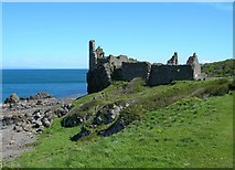 NS2515 : Dunure Castle by Mary and Angus Hogg
