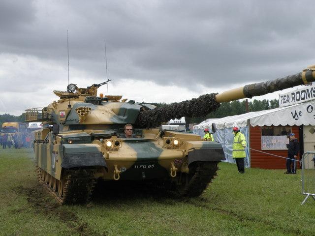 Chieftain Tank at Belvoir