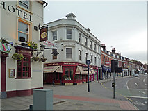 TQ2550 : Junction of High Street, Church Street and Tunnel Road by Ian Capper