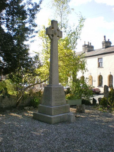 War Memorial, Holme