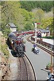 SH6441 : Train for Porthmadog by John Firth