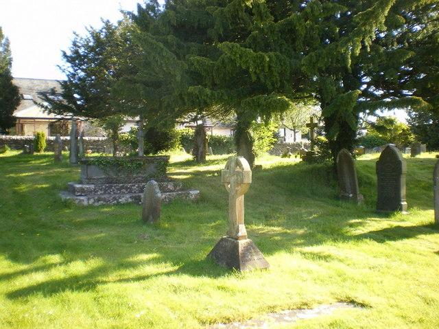 Church of St James, Burton, Graveyard