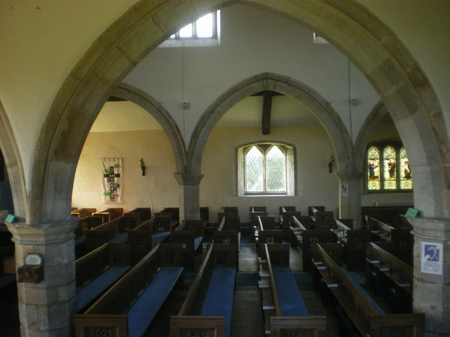 Church of St James, Burton, Interior