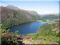SH6149 : Llyn Dinas by Tony Edwards