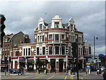 TQ2375 : The Railway PH, Putney by Peter Trimming