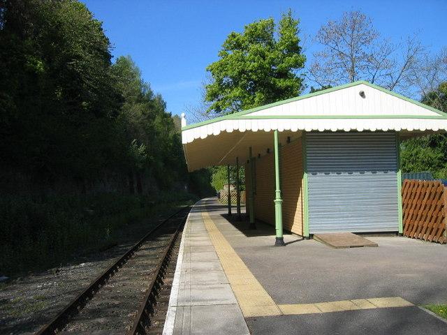 New Railway Station building Wolsingham