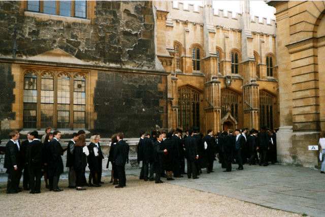 Oxford University - Matriculation