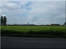 TL6876 : Southern edge of RAF Mildenhall by John Goldsmith